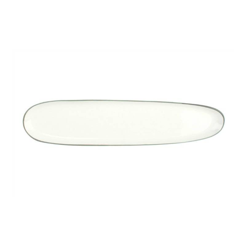 Canvas Abbesses Plate Oblong