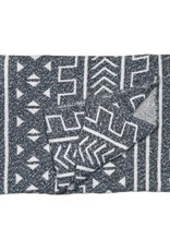 Savannah Hayes Mali Throw Blanket Onyx