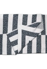 Savannah Hayes Aquino Throw Blanket Onyx