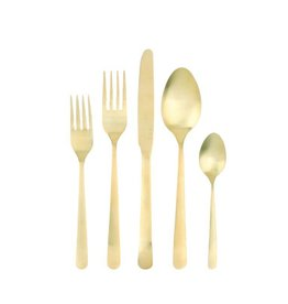 Canvas Oslo Cutlery Gold