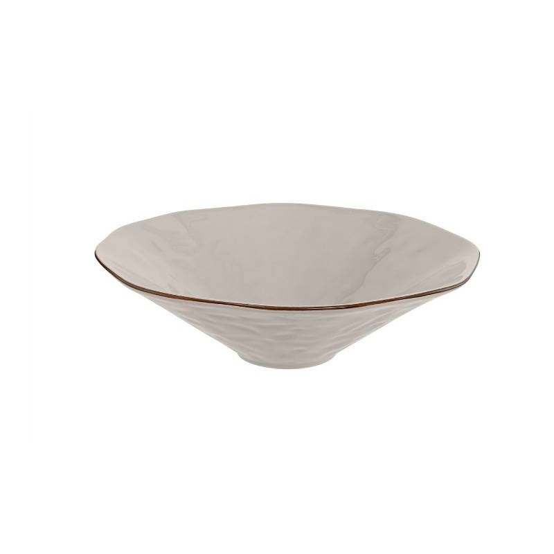 Cantaria Centerpiece Bowl Greige