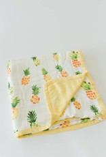 Little Unicorn Pineapple Deluxe Muslin Quilt