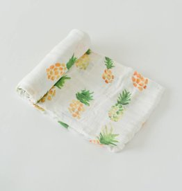 Little Unicorn Pineapple Deluxe Muslin Swaddle Single
