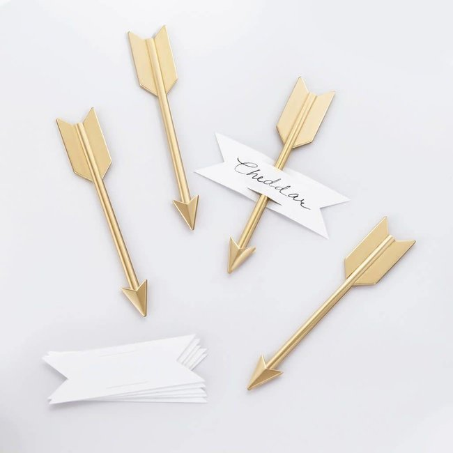 Arrow Cheese Set Brass