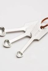 Beehive Handmade Heart Spice Spoons