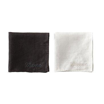 Sir Madam Mama Handkerchief S/2