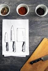 Cooking Knife Trio Tea Towel