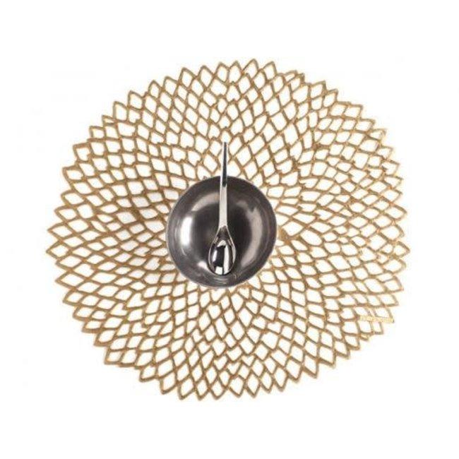 Dahlia Placemat Brass