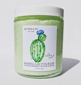butter and fig Barrel Cactus + Rain Sugar Scrub