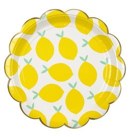 Meri Meri Lemon Plate Large