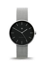 Newgate Watches Drumline Silver Steel Mesh