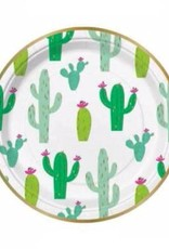 Slant Collections Cactus Paper Plates
