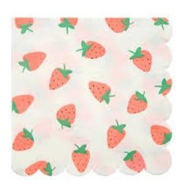 Meri Meri Strawberry Napkins Large