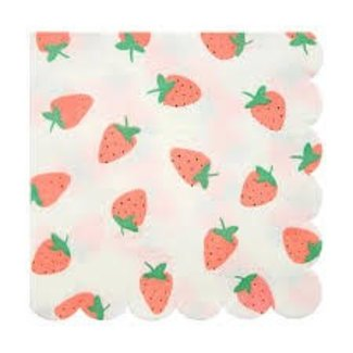 Strawberry Napkins Large