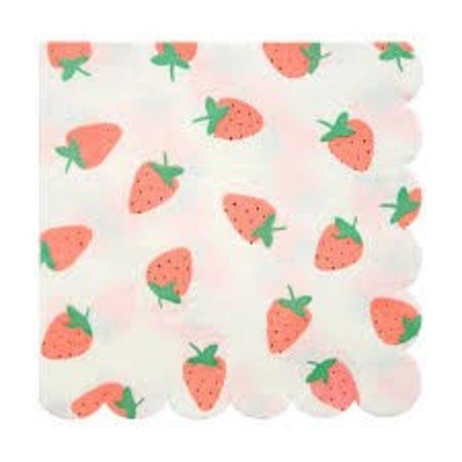 Meri Meri Strawberry Napkins Small