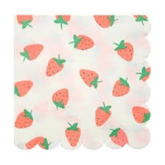 Strawberry Napkins Small
