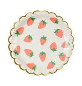 Meri Meri STRAWBERRY PLATE LG