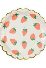 Meri Meri STRAWBERRY PLATE SM