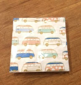 Slant Collections Vans Beverage Napkin