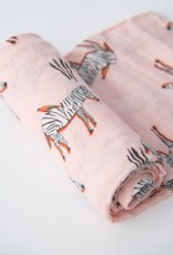 Little Unicorn Zebra Deluxe Muslin Swaddle Single
