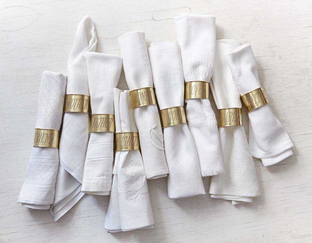 Sir Madam Endearment Napkin Ring