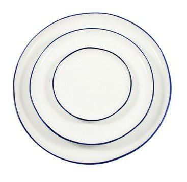 Canvas Abbesses Dinner Plate
