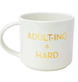 Chez Gagne Adulting is Hard Mug