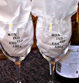 """Geneviève Leclerc Ensemble de verres à vin """"Mon Indispensable"""""""