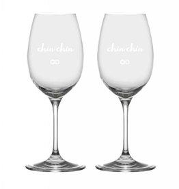 "Ensemble de verres à vin OD ""Chin Chin"""
