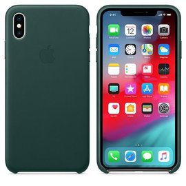 Apple Apple Leather Case for iPhone Xs Max - Forest Green (ATO)