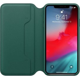 Apple Apple Leather Folio Case for iPhone Xs Max - Forest Green (ATO)