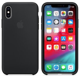 Apple Apple Silicone Case for iPhone Xs - Black (ATO)