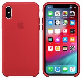 Apple Apple Silicone Case for iPhone Xs - Product Red (ATO)