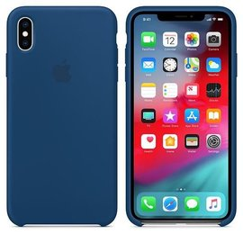 Apple Apple Silicone Case for iPhone Xs Max - Blue Horizon (ATO)
