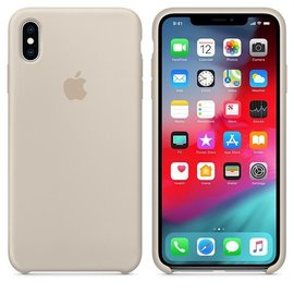 Apple Apple Silicone Case for iPhone Xs Max - Stone (ATO)