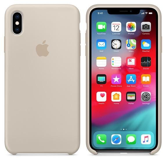 Apple Apple Silicone Case For Iphone Xs Max Stone Ato Cayman
