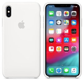 Apple Apple Silicone Case for iPhone Xs Max - White (ATO)