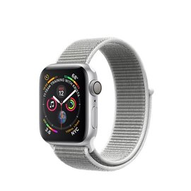 Apple Apple Watch Series 4 (GPS), 40mm Silver Aluminum Case with Seashell Sport Loop