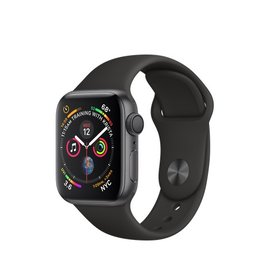Apple Apple Watch Series 4 (GPS), 40mm Space Gray Aluminum Case with Black Sport Band