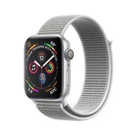 Apple Apple Watch Series 4 (GPS), 44mm Silver Aluminum Case with Seashell Sport Loop