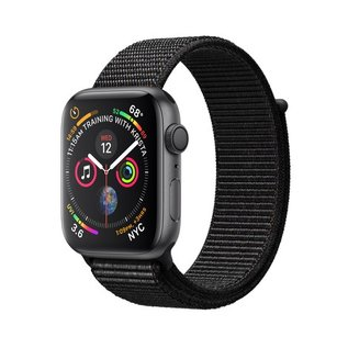 Apple Apple Watch Series 4 (GPS), 44mm Space Gray Aluminum Case with Black Sport Loop