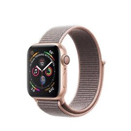 Apple Apple Watch Series 4 (GPS), 40mm Gold Aluminum Case with Pink Sand Sport Loop