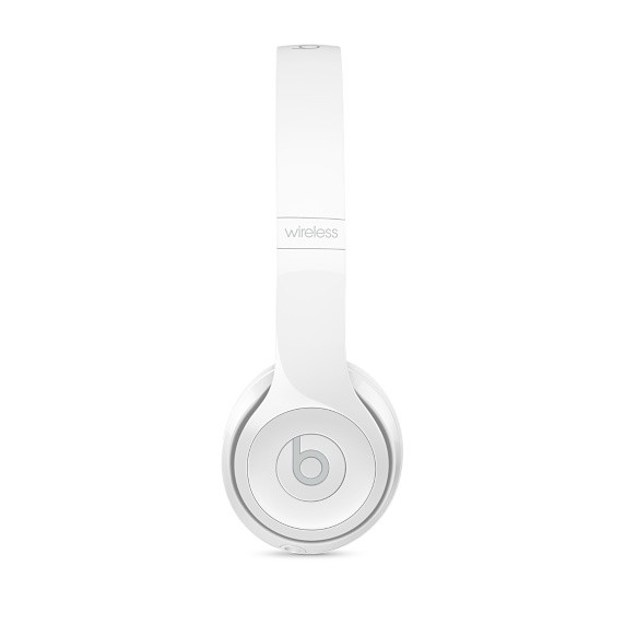 Beats Beats Solo3 Wireless On-Ear Headphones - Gloss White - Cayman ... c2e9fa6b5