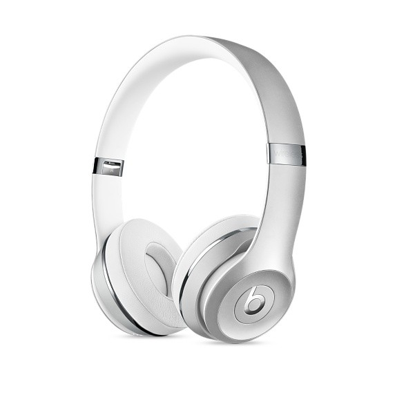 6db118a1906 Beats Beats Solo3 Wireless On-Ear Headphones - Silver - Cayman MAC Store  T/A Alphasoft