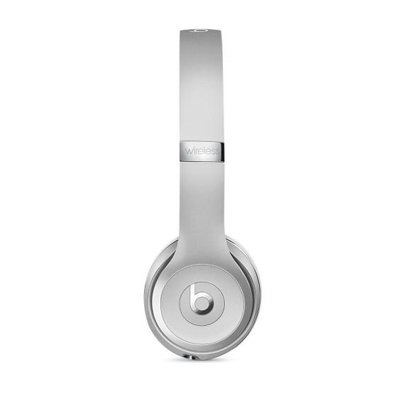 1507d3a7a3a Beats Beats Solo3 Wireless On-Ear Headphones - Silver - Cayman MAC ...