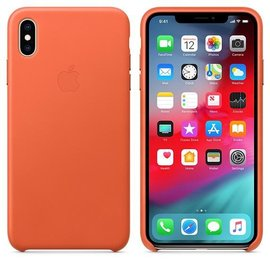 Apple Apple Leather Case for iPhone Xs Max - Sunset (ATO)