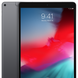 """Apple Apple iPad Air3 10.5"""" Wi-Fi + Cellular 256GB - Space Gray (early 2019) (ATO)"""