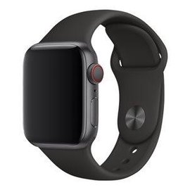 Apple Apple Watch Band 40mm Black Sport Band 130-200mm (ATO)