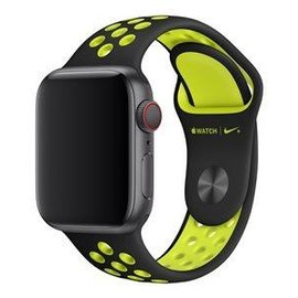 Apple Apple Watch Band 40mm Black/Volt Nike Sport Band 130-200mm (ATO)