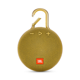 JBL JBL Clip 3 Waterproof Bluetooth Speaker Mustard Yellow